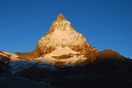 4 nagroda Najpiękniejsza góra świata 2009. Matterhorn. Magdalena Kubicka