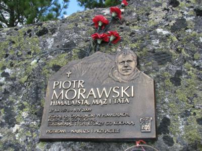 Tablica Piotra Morawskiego - Tatrzański Cmentarz Symboliczny
