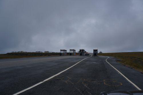 Bramki wjazdowe na Nordkapp