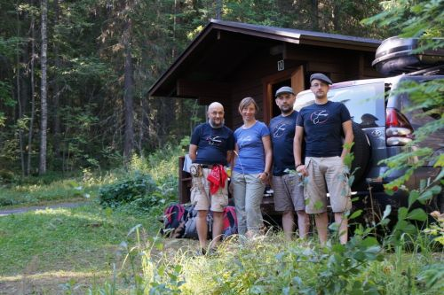 Ekipa - Norwegia 2013 w wyjazdowych koszulkach