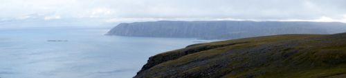 Panorama okolic Nordkappu