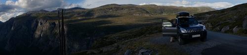 Panoramka - z linia energetyczna