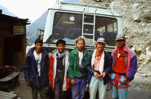 Action de secours pour Andrzej Marciniak, 1989 - archives Artur Hajzer