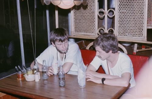 Artur Hajzer et Rafal Chołda, Katmandou 1982 - archives d'Artur Hajzer.