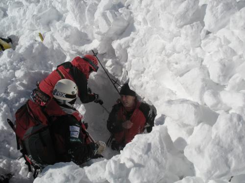 Avalanche sur Ciemniak 2008