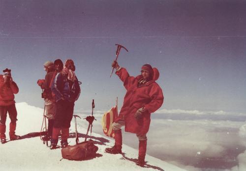 Le Mont Blanc 1981 - archives d'Artur Hajzer