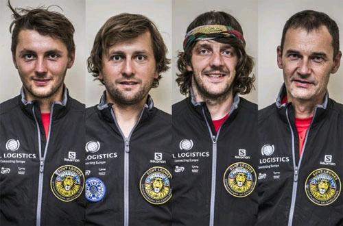 Andrzej Bargiel, Grzegorz Bargiel, Marcin Kin i Darek Załuski (fot. Marcin Kin / Red Bull Content Pool)