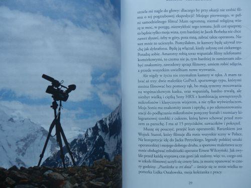 """""""Moja kamera patrzy w stronę Broad Peaku"""" - JHB"""