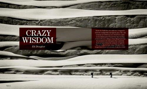 """Crazy Wisdom"" Ed Douglas, Alpinist (USA, January 2015)"